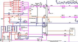 Электрическая схема вентилятора охлаждения автомобиля
