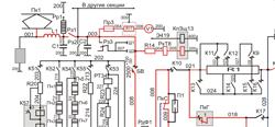 Схема электровоза эп1м